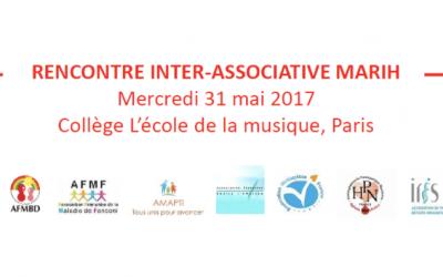 2ème Journée des associations partenaires de la filière MaRIH en Mai 2017