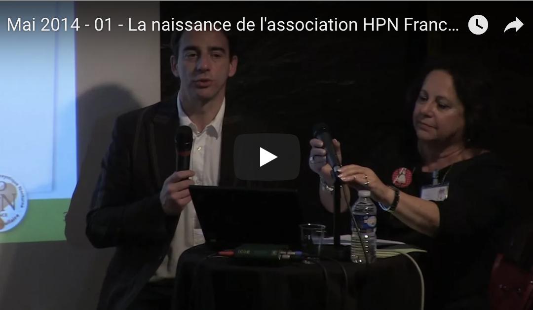 Mai 2014 – 01 – La naissance de l'association HPN France – Aplasie Médullaire