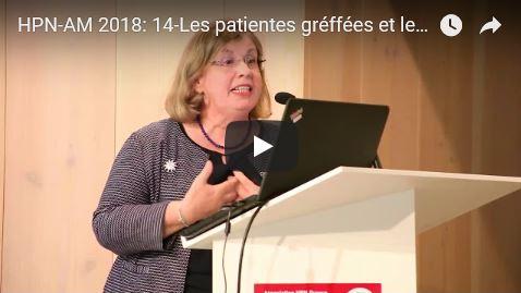 Journée HPN-AM 2018: 14-Les patientes greffées et leur sexualité