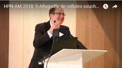 Journée HPN-AM 2018: 9-Allogreffe de cellules souches et Aplasie Médullaire